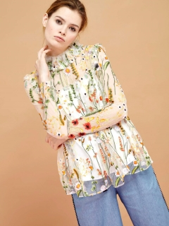 シスタージェーン(sister jane)のSwing Tree Embroidered Top プルオーバー