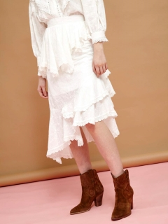 シスタージェーン(sister jane)のTenderfoot Cascade Midi Skirt 膝丈スカート