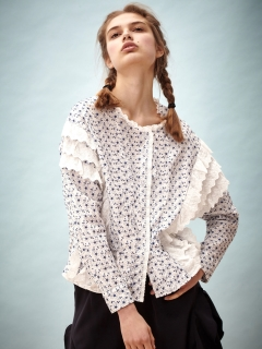 シスタージェーン(sister jane)のMalibu Embroidered Blouse ブラウス