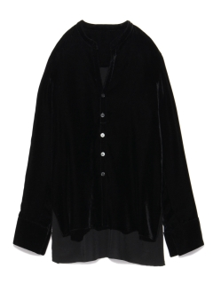 スタイリング(styling/)のVelvet Shirt (hung on the shoulder) シャツ