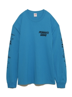 リトル ユニオン トウキョウ(LITTLE UNION TOKYO)の【VOTE MAKE NEW CLOTHES】VMNC PEANUTS GANG L/S TEE LUT EX Tシャツ