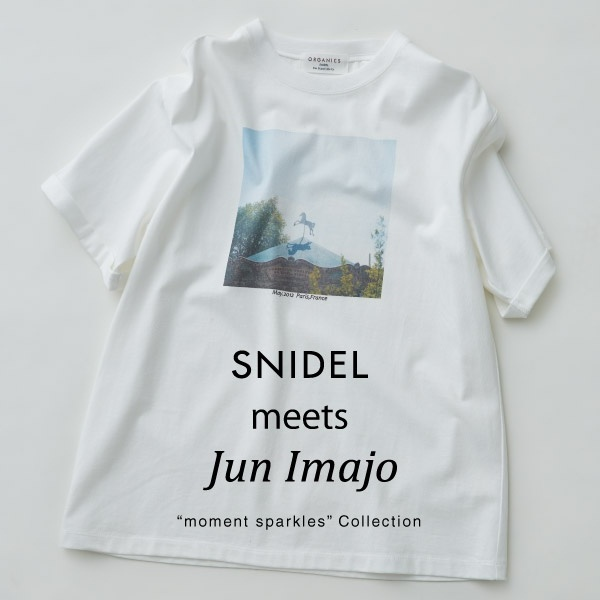 SNIDEL(スナイデル)のニュース | SNIDEL meets Jun Imajo 【moment sparkles】Collection