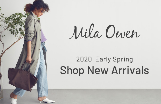 Mila Owen Shop New Arrivals in January