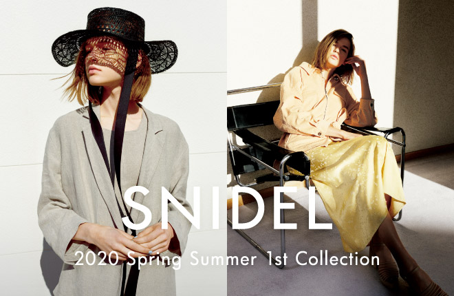 SNIDEL Spring Summer 2020 1st Collection