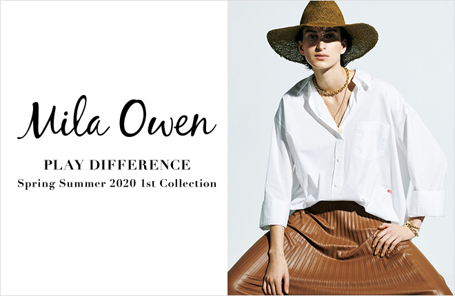 Mila Owen 2019 Spring Summer 1st Collection