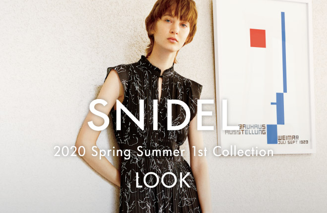 SNIDEL Spring Summer 2020 1st Collection -LOOK-