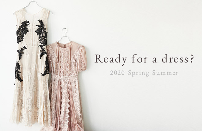 Ready for a dress?