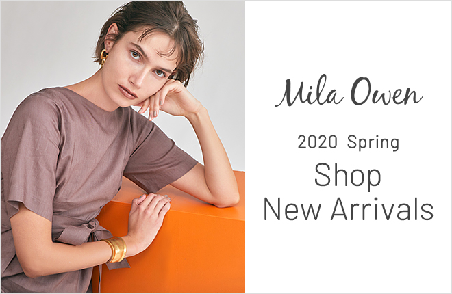 Mila Owen Shop New Arrivals in February