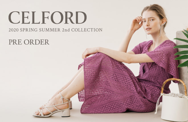 CELFORD 2020 Spring Summer 2nd Collection PRE ORDER