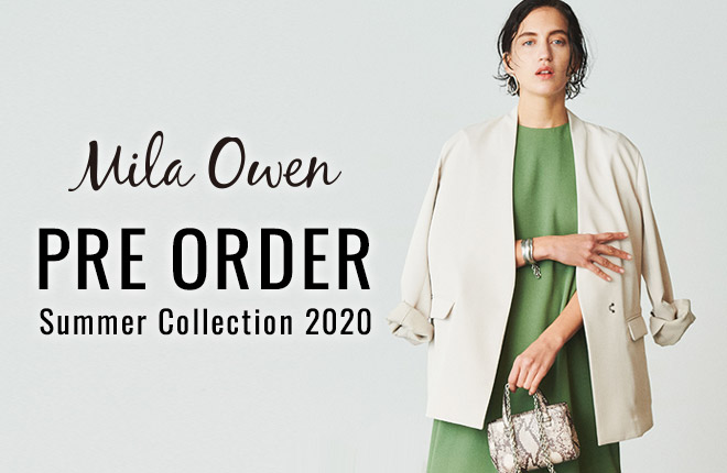 "Mila Owen 2nd  Collection Spring Summer 2020 ""Pre Order"""