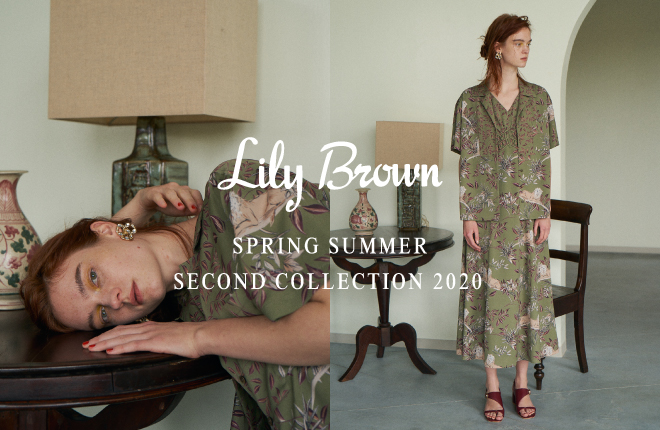 Lily Brown 2020 Spring/Summer 2nd Collection