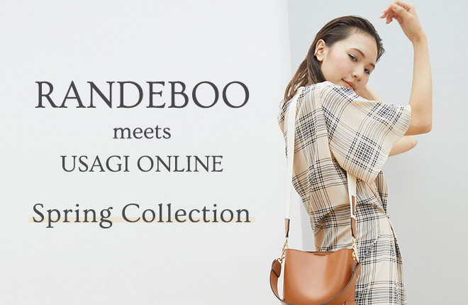 RANDEBOO meets USAGI ONLINE  Spring Collection