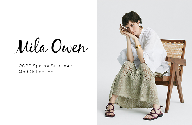 Mila Owen 2020 Spring Summer 2nd Collection