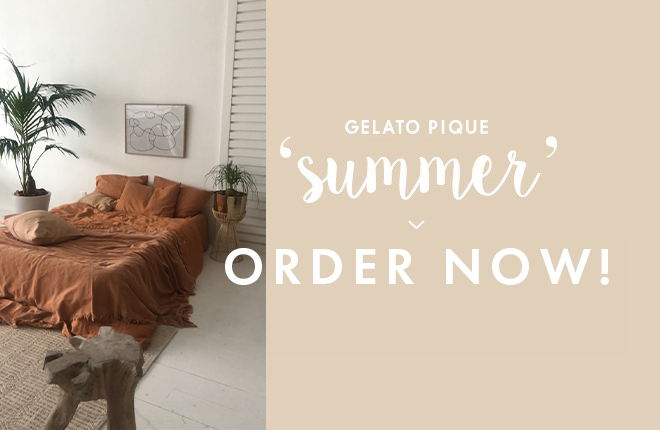 gelato pique 2020 SUMMER COLLECTION