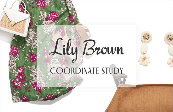 "Lily Brown ""COORDINATE STUDY"" vol.1"