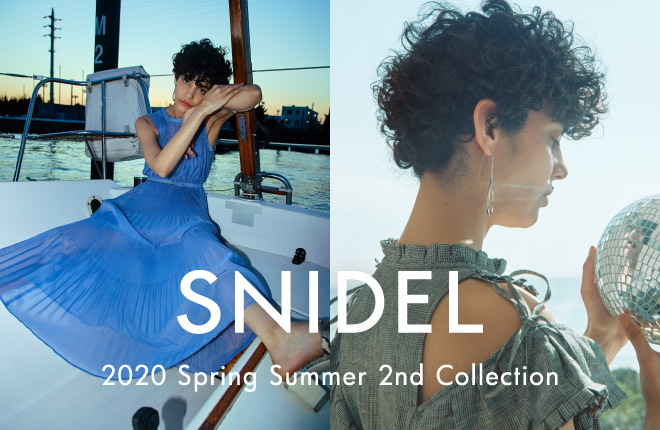 SNIDEL 2020 Spring Summer 2nd Collection