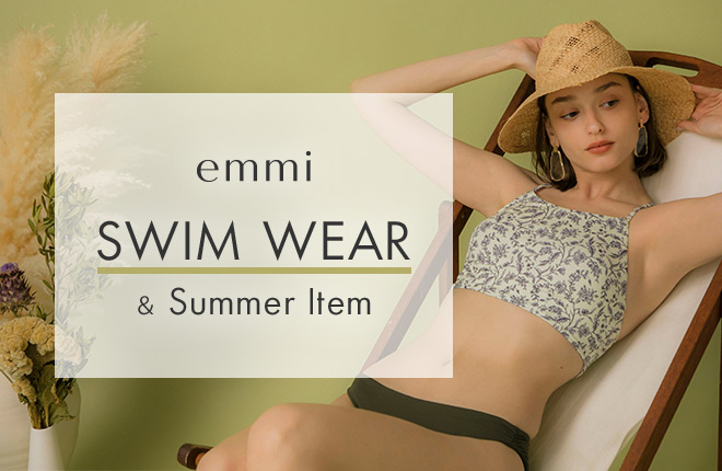 emmi SWIMWEAR & Summer Item