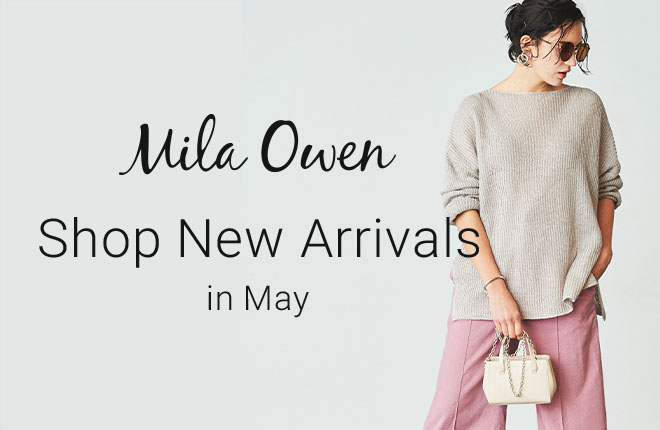 Mila Owen Shop New Arrivals