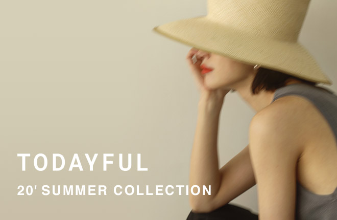 TODAYFUL 2020 SUMMER COLLECTION