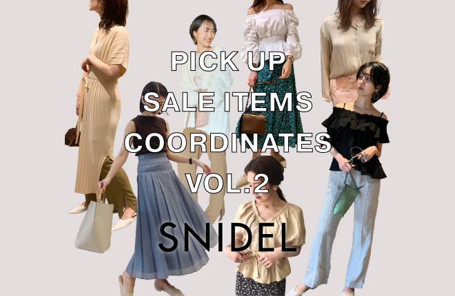 PICK UP SALE ITEMS COORDINATES VOL.2