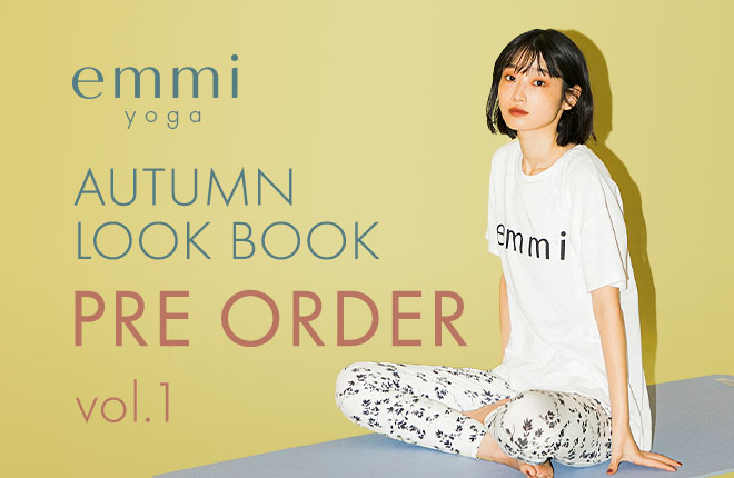 emmi yoga 2020 Autumn Collection Pre Order Vol.1