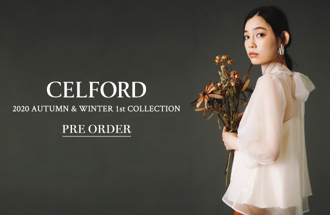 CELFORD 2020 Autumn Winter 1st Collection PRE ORDER
