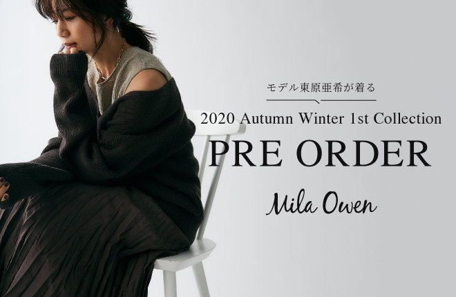 2020 Autumn Winter 1st Collection PRE ORDER