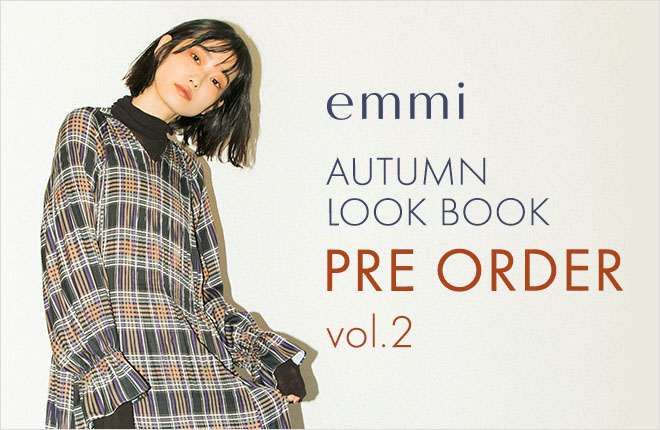 emmi atelier 2020 Autumn Collection Pre Order Vol.2