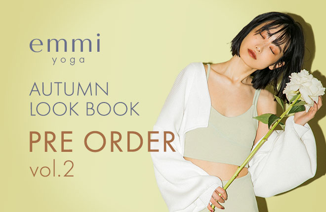 emmi yoga 2020 Autumn Collection Pre Order Vol.2