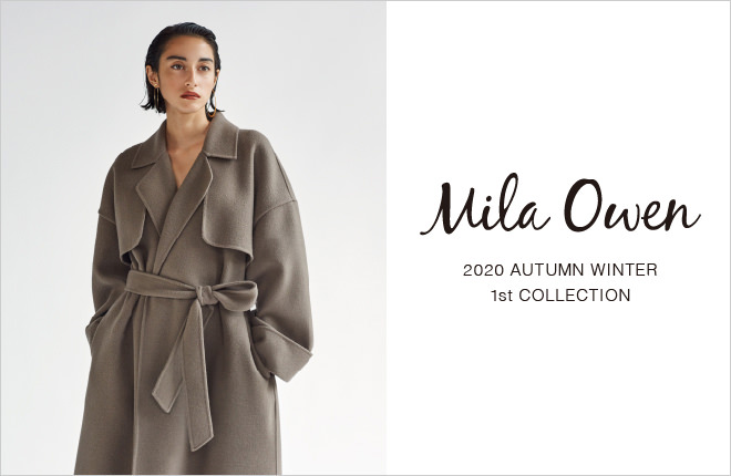 Mila Owen 2020 AUTUMN WINTER 1st COLLECTION