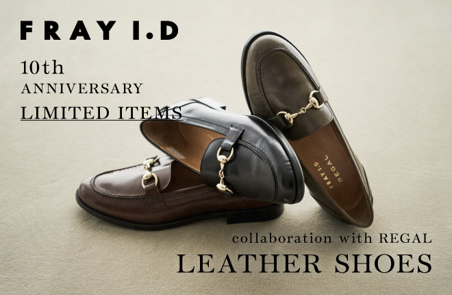 collaboration with REGAL  LEATHER SHOES