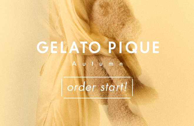 gelato pique 2020 Autumn Collection