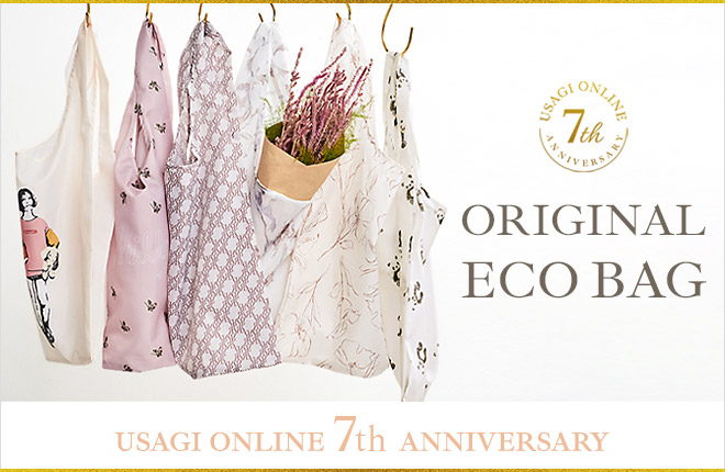 USAGI ONLINE 7th Anniversary ORIGINAL ECO BAG