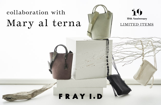 FRAY I.D collaboration with Mary al terna