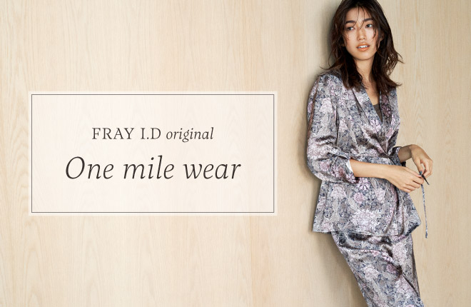 FRAY I.D original -One mile wear-