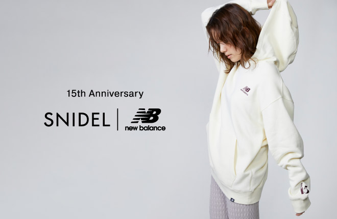 15th Anniversary SNIDEL | New Balance