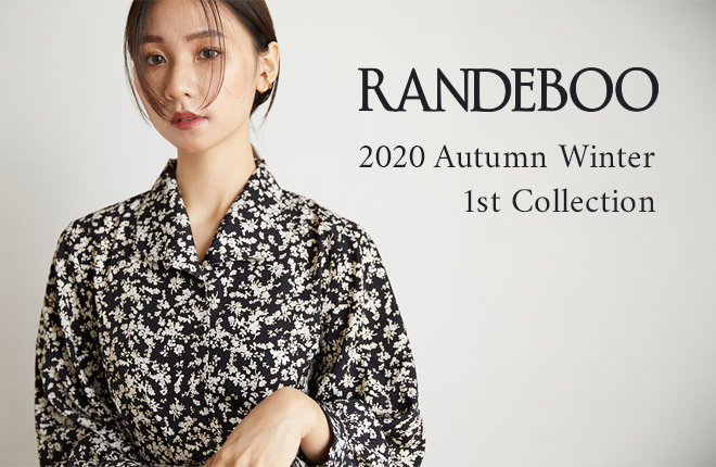RANDEBOO 2020 Autumn Winter 1st Collection