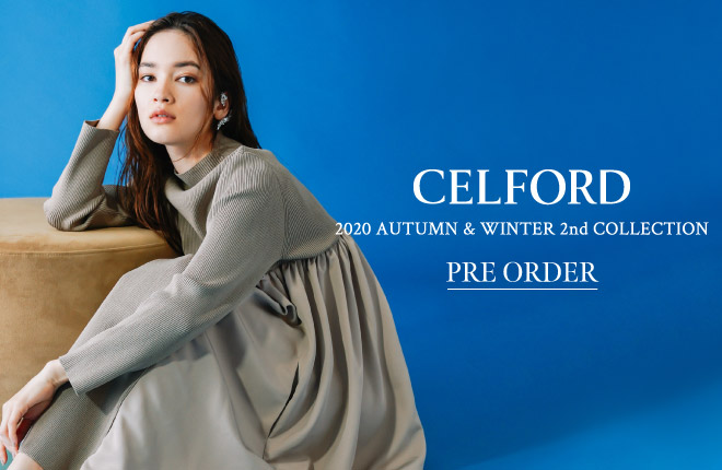 CELFORD 2020 Autumn Winter 2nd Collection PRE ORDER