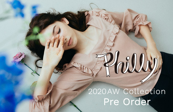 """Philly chocolate"" 2020AW Collection Pre-Order!"