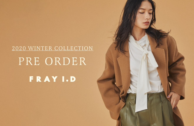 FRAY I.D 2020 WINTER COLLECTION