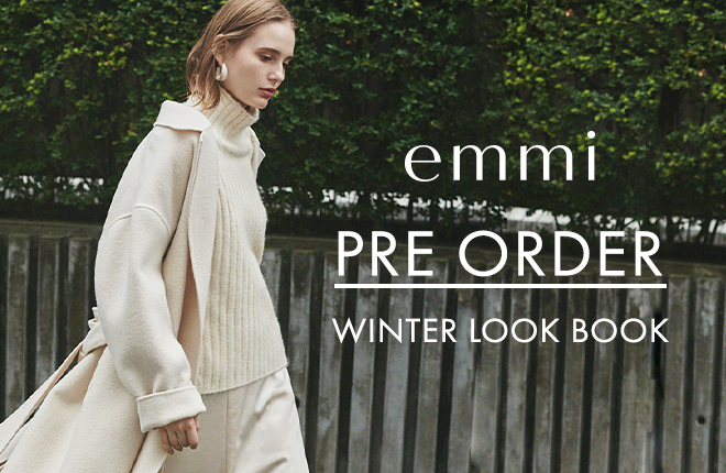 emmi 2020 winter collection PRE-ORDER