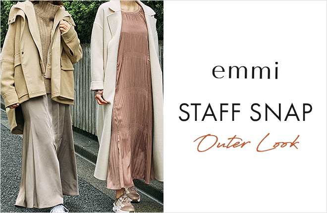emmi STAFF SNAP OUTER LOOK