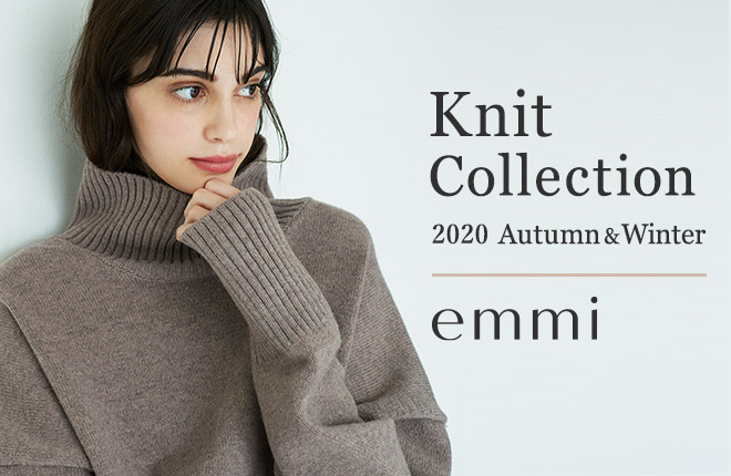 Knit Collection 2020 Autumn&Winter