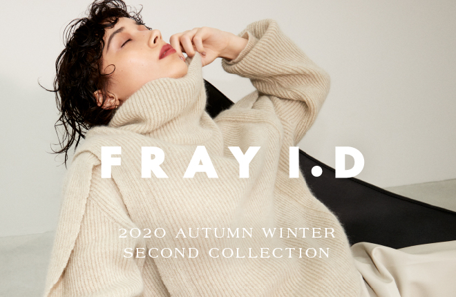 FRAY I.D 2020 AUTUMN WINTER SECOND COLLECTION