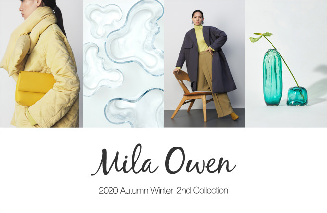 Mila Owen 2020 Autumn Winter 2nd Collection