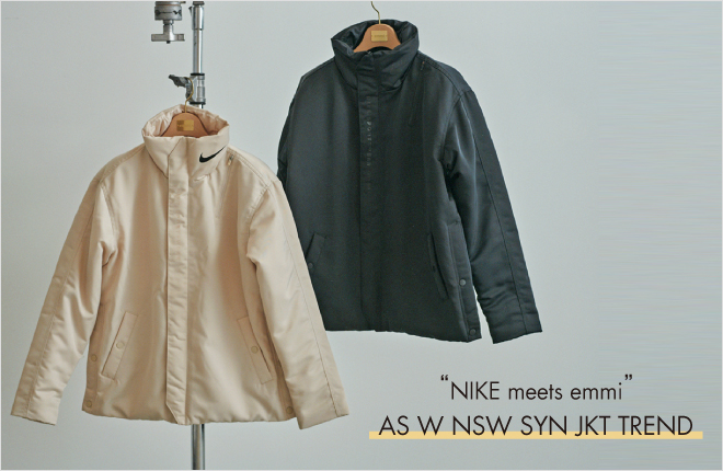 """NIKE meets emmi""AS W NSW SYN JKT TREND"