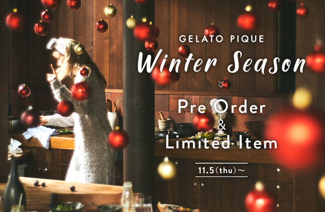 gelato pique 2020 WINTER COLLECTION
