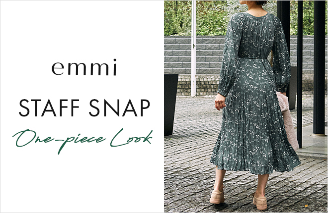 emmi STAFF SNAP ONE-PIECE LOOK