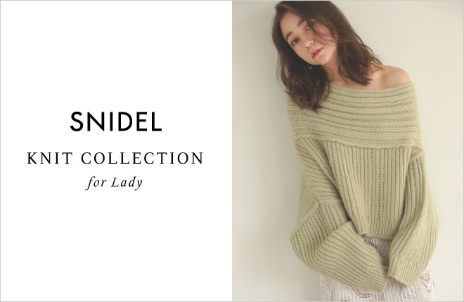 KNIT COLLECTION for Lady