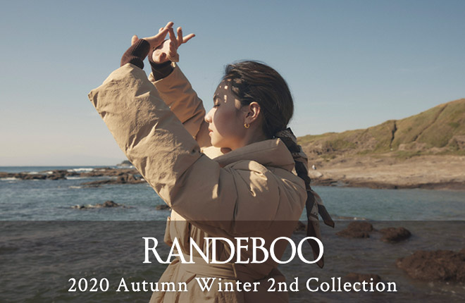 RANDEBOO 2020 Autumn Winter 2nd Collection